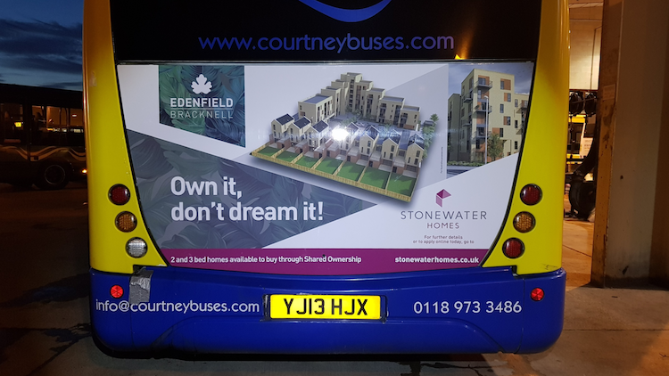 Bus Advert Rear Housing